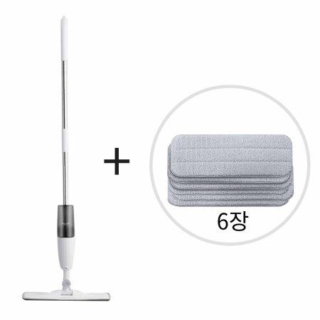 [무배쿠폰]디어마 분무형 물걸레 청소기+리필패드 6장