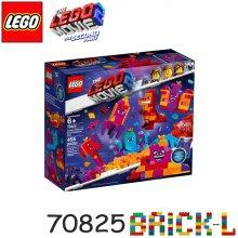 [L.POINT 3천점 증정]레고 70825 레고무비 와테브라 여왕의 무엇이든 조립 박스 BR