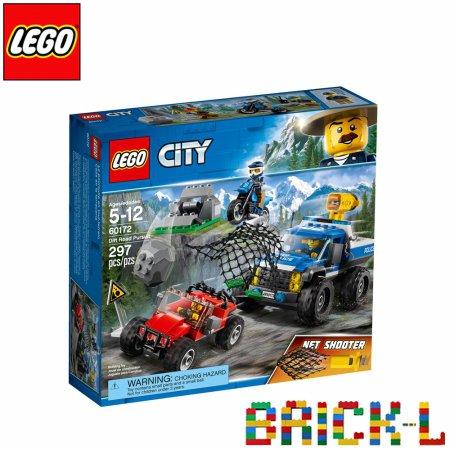 레고 60172 시티 숲속 위험한 추격전 BR