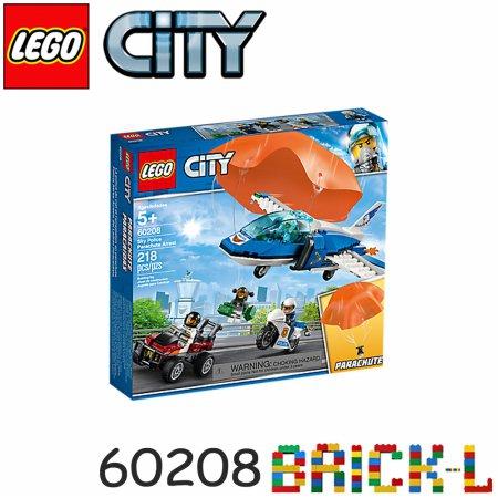 레고 60208 시티 하늘의 경찰 낙하산 체포 작전 BR