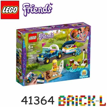 [L.POINT 1천점 증정]레고 41364 프렌즈 스테파니의 버기카와 트레일러 BR