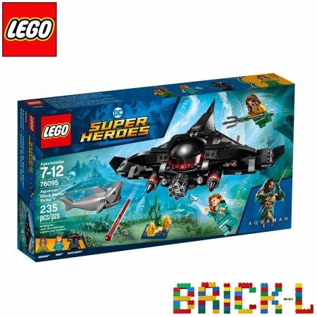레고 76095 슈퍼히어로 아쿠아맨 블랙 만타 공격 BR