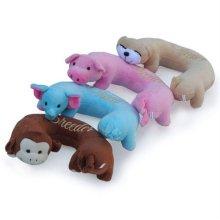 애견 장난감 애완동물베게 돼지/코끼리/곰돌이 랜덤_0D5F89