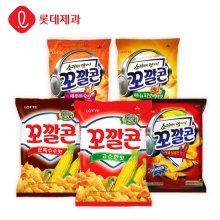 롯데제과 대표스낵 꼬깔콘 매콤달콤한맛 77gX20봉