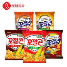 롯데제과 대표스낵 꼬깔콘 군옥수수맛 77gX20봉