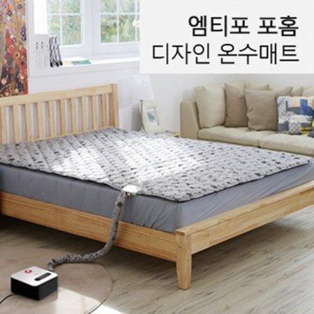 엠티포 포홈 디자인 온수매트 /캠핑매트/온수매트 화이트 컬러