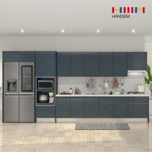 EURO9000 프라인디고 (키큰장+냉장고장형/ㅡ자/3.8m~4.2m)