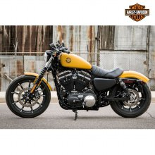 IRON 883 바이크 Rugged Gold Denim