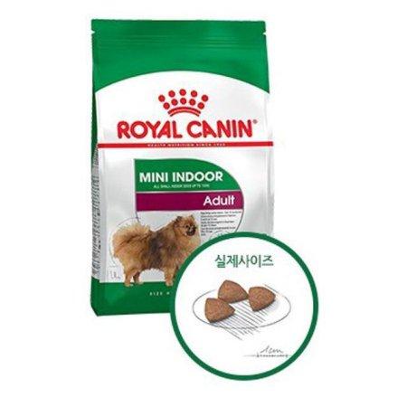 로얄캐닌 강아지 애견 사료 미니 인도어 어덜트 7.5kg_2950DC