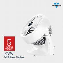 기계식 써큘레이터 533W [공기이동거리 21M / 3단계 풍량 조절 / 탁상형]