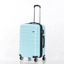 미치코런던 웨이브 민트 24 확장형 캐리어 여행가방