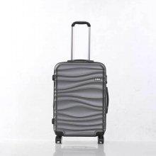 미치코런던 웨이브 그레이 24 확장형 캐리어 여행가방