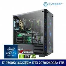 HE782C 인텔 i7-9700K/16GB/RTX 2070/SSD 240GB + HDD 1TB
