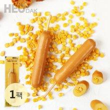 허닭 닭가슴살 후랑크 옥수수콘 70g