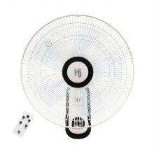 5엽날개 리모컨 벽걸이 선풍기 HJ-WX1600R (18형)