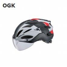 OGK 2019 고글장착 컴팩트 헬멧 비트 _블랙 SM