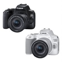 EOS-200D II DSLR 렌즈KIT[블랙][ 본체+18-55mm F4-5.6 IS STM ][가방+16G메모리 증정]