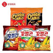 치토스 매콤달콤72gX3개+치토스스모키88gX3개