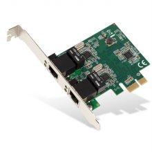 [비밀쿠폰10%+카드청구할인 중복사용가능]기가 PCI-E 듀얼 티밍 랜카드 리얼텍 NEXT-3102D EX
