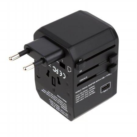 [무료배송쿠폰] 해외여행용 돼지코 멀티아답터 플러그 5포트 USB충전 NEXT-008TC-5P