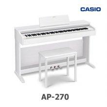 [히든특가] 카시오 디지털피아노 셀비아노 AP-270_화이트