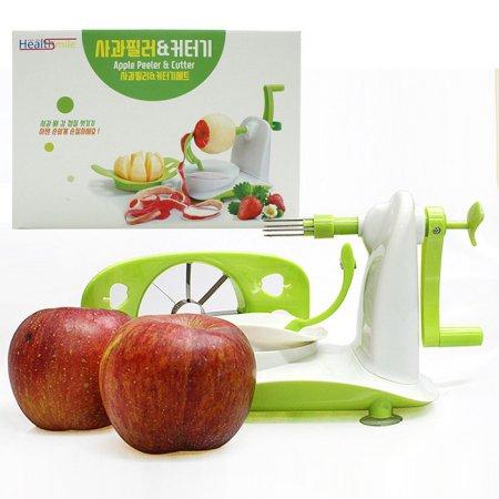 사과필러+커터기 1+1 사과깍이 슬라이서 애플필러