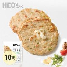 오븐에 구운 닭가슴살 스테이크 청양고추맛 100g 10팩