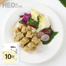 한입 닭가슴살 큐브 깻잎 100g 10팩