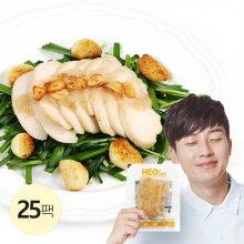 슬라이스 닭가슴살 마늘맛 200g 25팩