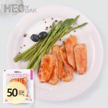 프레시 슬라이스 닭가슴살 칠리맛 100g 50팩