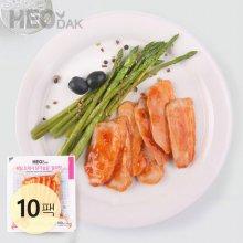 프레시 슬라이스 닭가슴살 칠리맛 100g 10팩