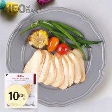 프레시 슬라이스 닭가슴살 훈제맛 100g 10팩