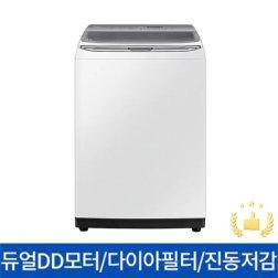 일반세탁기 WA18R7650GW[18KG/듀얼DD모터/무세제통세척/4중진동저감/미드컨트롤/2세대다이아몬드필터/화이트]