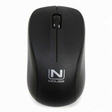 NMOUSE W3 (무소음, 애슬론S) 무선 마우스 블랙