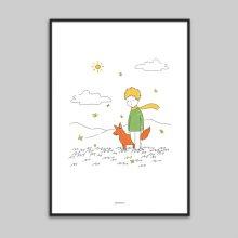 어린왕자 메탈 액자/ 포스터 액자 (A3,A2,A1)