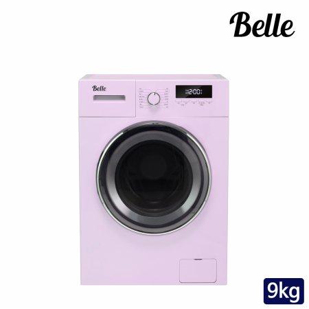 하이마트 설치! 벨 레트로 9kg 드럼세탁기 (핑크) / SDD90AP