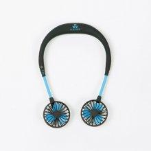 핸즈프리 목걸이형 넥밴드 선풍기 블루아이디 BI-NF2_BK (블랙)