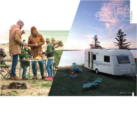 [계약금] 캠핑카 아드리아 카라반 ADRIA ALTEA 402PH (4베드, 10월 이후 배송가능)