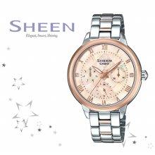 SHE-3055SPG-4A 여성 메탈 시계