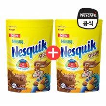 네스퀵 초콜릿맛 지퍼백 400g X 2개