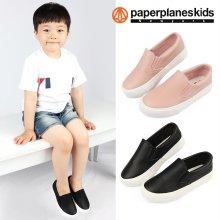 심플슬립 아동슬립온 남아 여아 아동 단화 신발 운동화 블랙:170