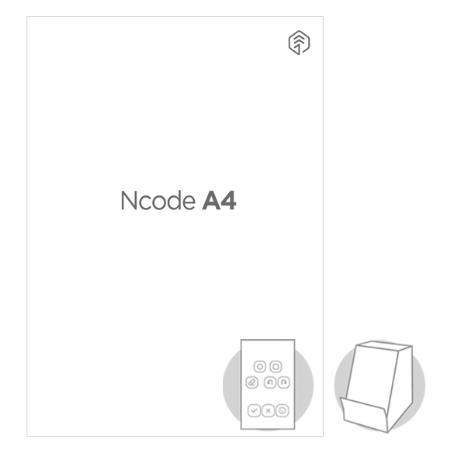 Ncode A4 용지 50장