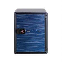 [선일금고] POS-031DSL 스카이블루 내화금고 자동계폐 디지털락