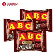 롯데제과 ABC 초코렛200gX3봉