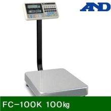 벤치형저울 FC-100K 100㎏ 20g (1EA)_369AE7