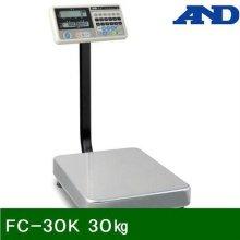 벤치형저울 FC-30K 30㎏ 5g (1EA)_369AE5