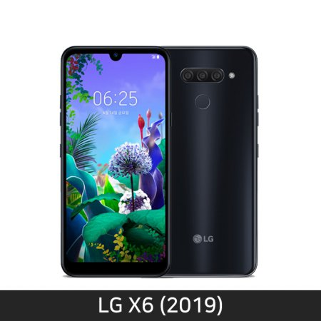 [자급제/공기계] LG X6 2019 [뉴 오로라 블랙][LM-X625N][트리플카메라/쿼드DAC]