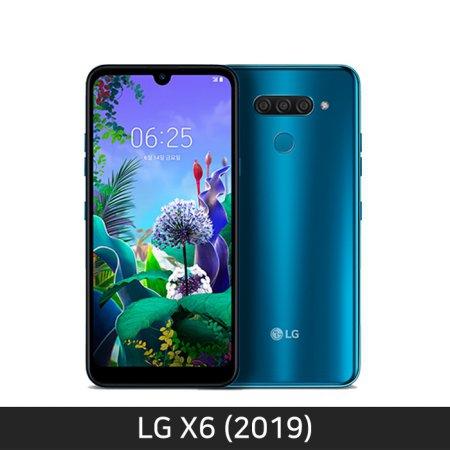 [자급제/공기계] LG X6 2019 [뉴 모로칸 블루][LM-X625N] [트리플카메라/쿼드DAC]