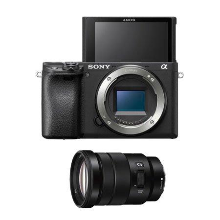 알파 A6400 미러리스 카메라 렌즈KIT[블랙][본체+18-105mm F4 G OSS]