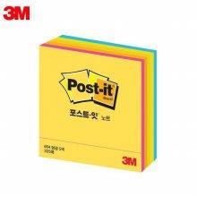 3M 큐브노트 형광 3X3 포스트잇